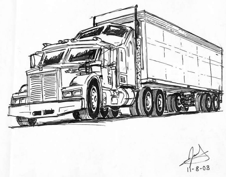 a_semi_truck_by_akifan