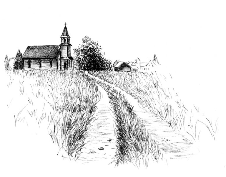 dirt-road-church