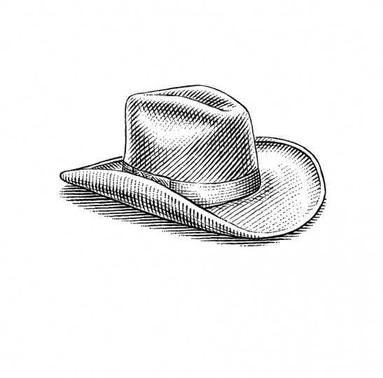 Cowboy-Hat-by-Dave-Hopkins-547x539